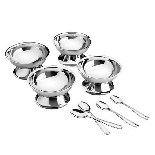 Kit para sobremesa aço inox 8 pçs - Tramontina
