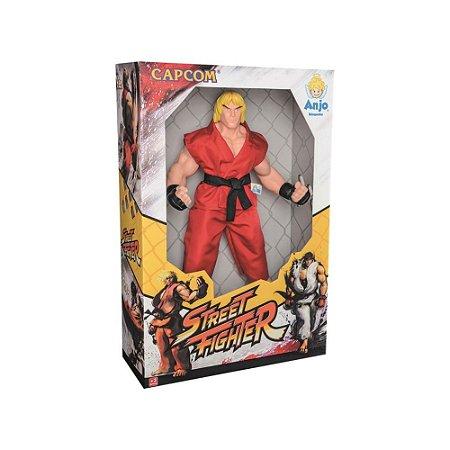 Boneco Street Fighter Ken - Anjo
