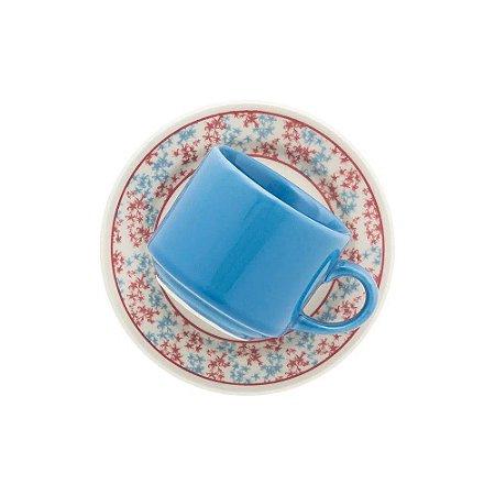 Xícara Oxford Chá 200ml Com Pires Melissa Ae045119