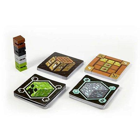 Jogo de Cartas Minecraft Card Game Mattel