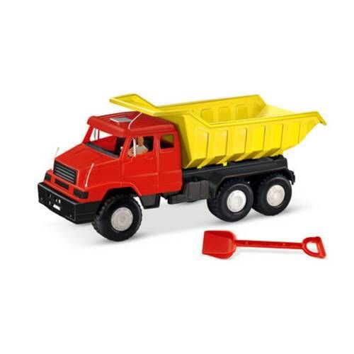 Caminhão Big Lider Basculante Vermelho e Amarelo 2137 - Líder
