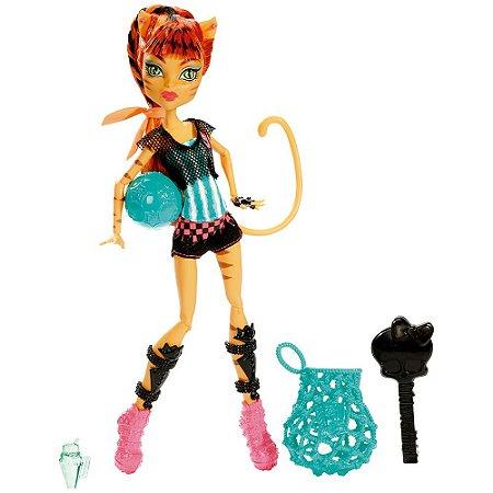Boneca Monster High Esporterror Toralei Mattel