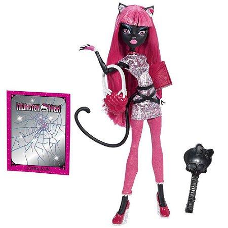 Boneca Catty Noir Monster High Volta Às Aulas Mattel