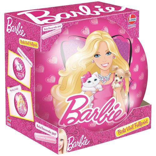Bola Infantil Em Vinil Barbie 543 - Lider