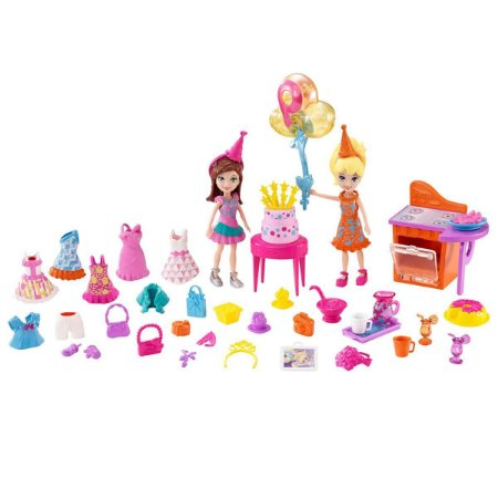 Festa de Aniversário da Polly Pocket - Mattel