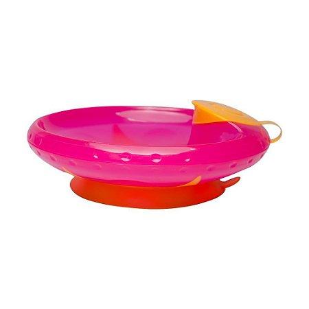 Prato Térmico Com Ventosa Rosa Buba - Infantil
