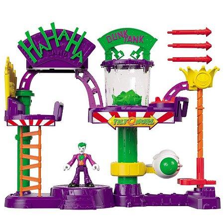 Imaginext DC Comics A Fábrica de Risada do Joker - Mattel