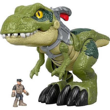 Boneco Imaginext T-Rex Mordida Feroz - Mattel