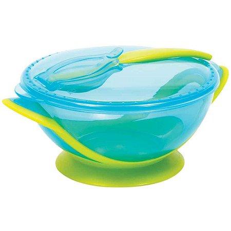 Kit Refeição Com Colher Azul Buba - Infantil