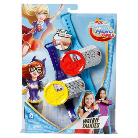 Super Walkie Talkies Dc Super Hero Girls - Mattel