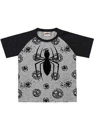 Camiseta Spider-Man Fakini- Menino