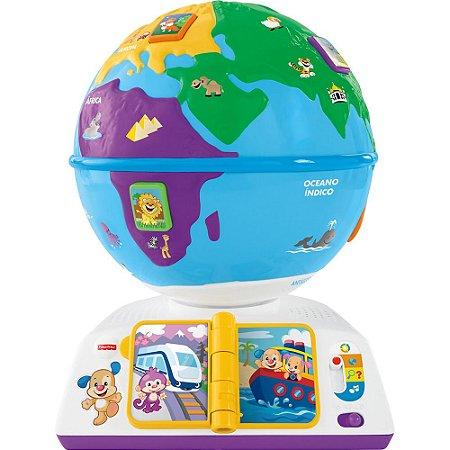 Aprender e Brincar Globo Fisher Price - Mattel