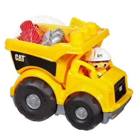 Caminhão Cat Mega Bloks - Mattel
