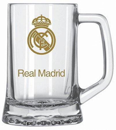 Caneca 280ml Real Madrid - Glob Import