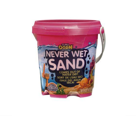 Never Wet Sand Areia Mágica Rosa Neon Barão - Infantil