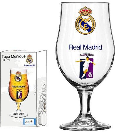 Taça Munique 380 Ml Real Madrid Jogador - Glob Import