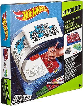 Hot Wheels Car Design Kit de Criação Mattel