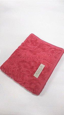 Toalha  Atlantica Para Rosto Vermelha