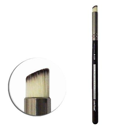 Pincel B123 Profissional de Precisão Kabuki Chanfrado - Macrilan
