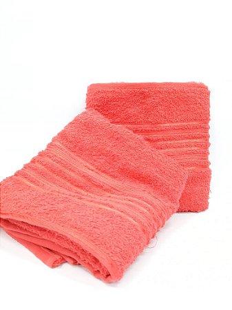 Toalha de banho vermelho Lyra - Camesa