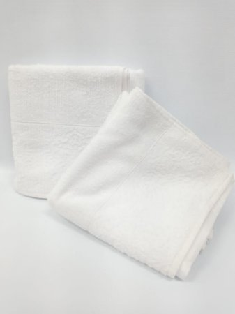 Toalha de banho branca Agra - Camesa
