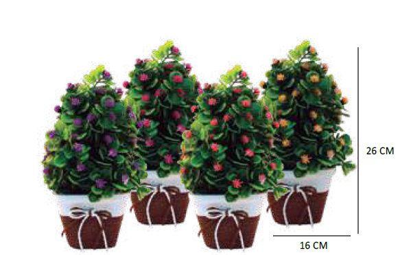Planta Artificial em Vaso - Imporiente