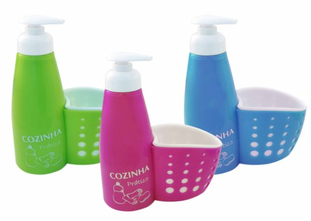 Porta Detergente com Cesto - Imporiente
