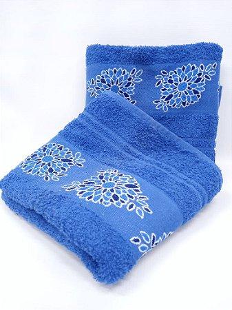 Toalha de banho Dalia azul - Camesa