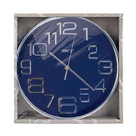 Relógio de Parede Prata - Imporiente