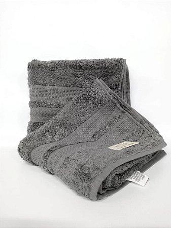Toalha de rosto Neo Clássico  cinza - Camesa