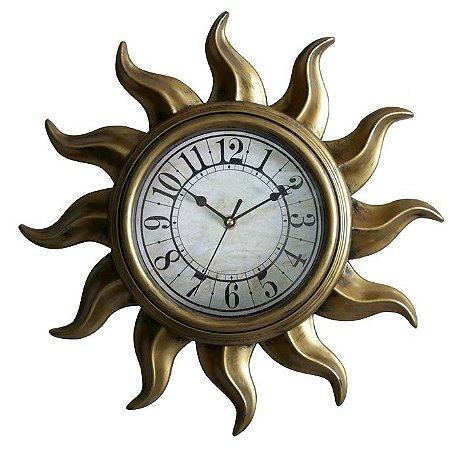 Relógio de Parede Sol Vintage - Imporiente