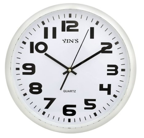 Relógio de Parede Redondo Branco - Imporiente