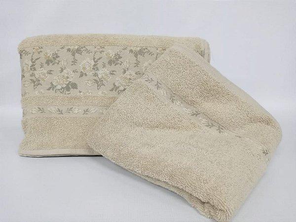 Toalha de banho Lilly bege - Camesa
