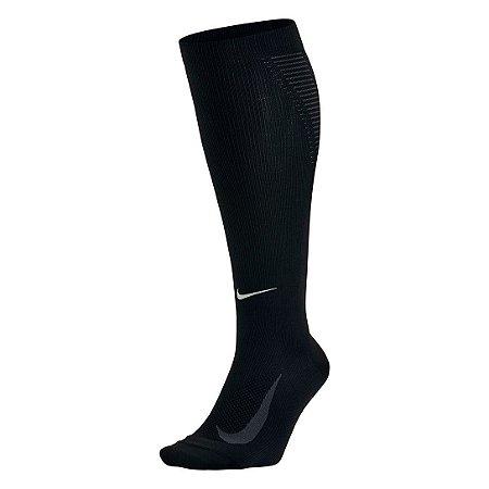 Meia De Compressão Nike Elite Running Lightweight 2.0 Dri-Fit - Preto