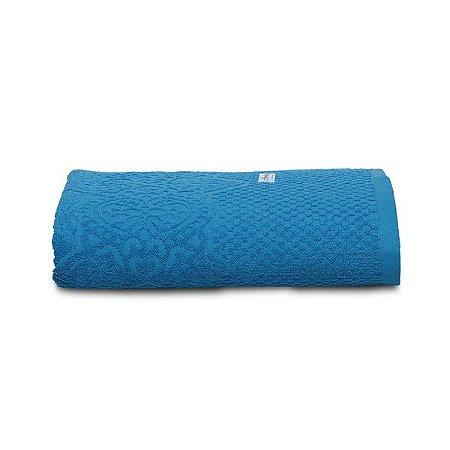 Toalha De Rosto Macramê Azul Vivid 50 cm x 80 cm Altenburg