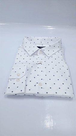 Camisa Social Luavi - Manga Longa