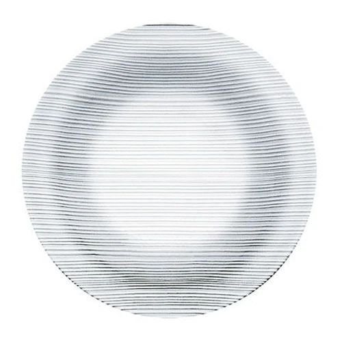 Prato de Vidro Fundo 22 cm Diamante Duralex - Ponte E Cia