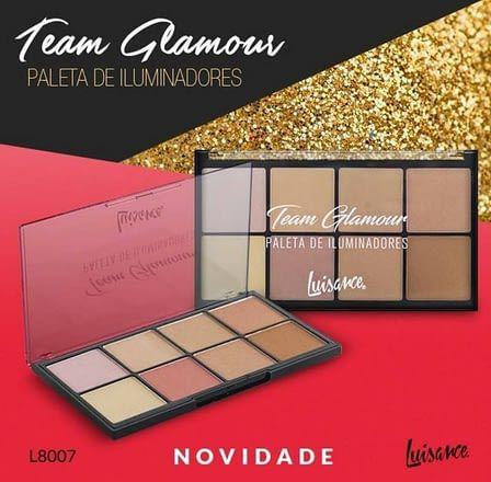 Paleta de Iluminadores Team Glamour Luisance
