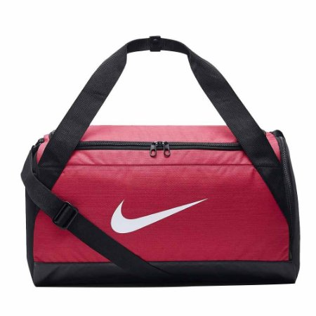 Bolsa Nike Brasilia Duffel Small 40 Litros - Rosa