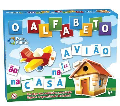 Jogo O Alfabeto Escolar - Pais E Filhos
