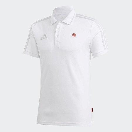 Camisa Polo 3-Stripes CR Flamengo - Adidas