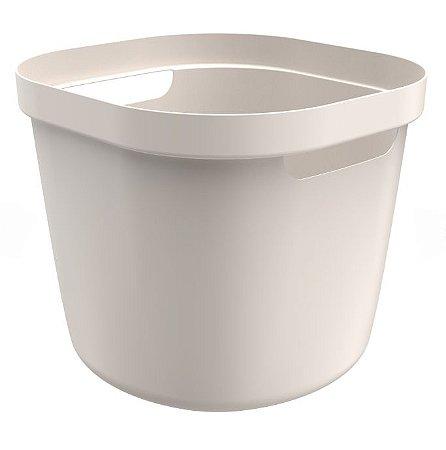 Cesto Cube Flex 28 Litros - Bege - Martiplast