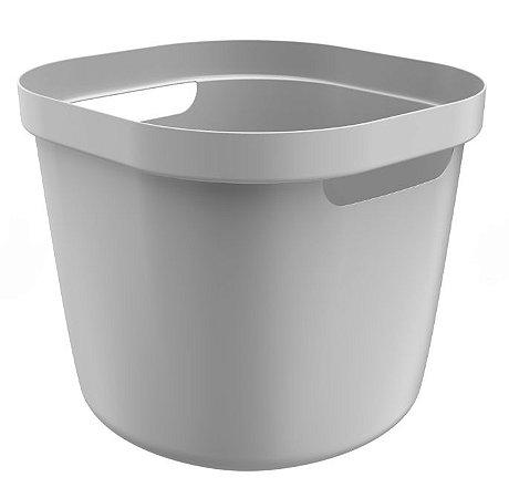 Cesto Cube Flex 28 Litros - Chumbo - Martiplast