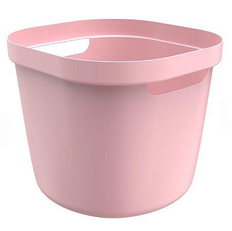 Cesto Cube Flex 28 Litros - Rosa - Martiplast