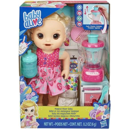 Baby Alive Magical Mixer Strawberry - Hasbro