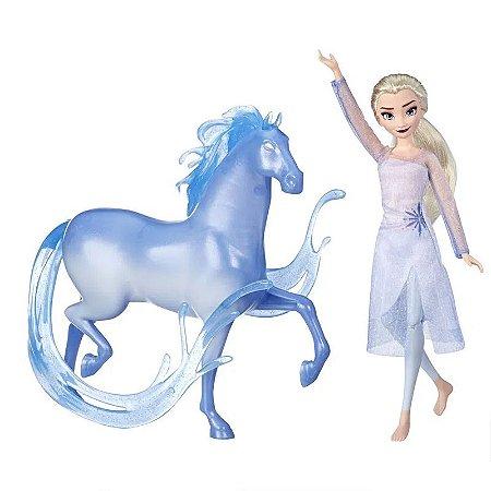 Conjunto de Bonecos - Disney - Frozen 2 - Elsa e Nokk - Hasbro