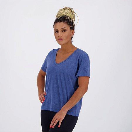 Camisa Gola V Olympikus - Feminina