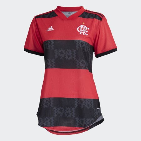 Camisa 1 CR Flamengo 21/22 Feminina - Adidas