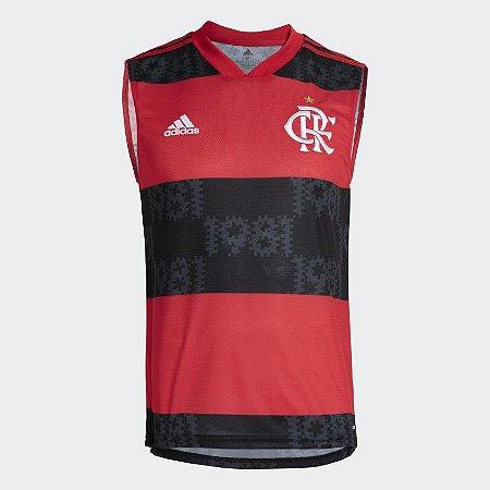 Camisa Sem Manga 1 CR Flamengo 21/22 Masculina - Adidas