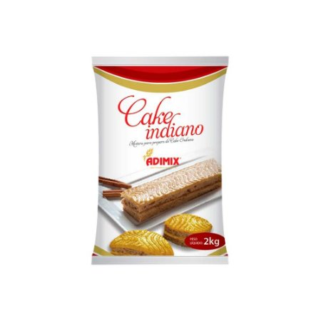 Mistura Cake Indiano Adimix 2 KG
